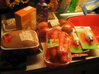 Pakowanie jedzenia